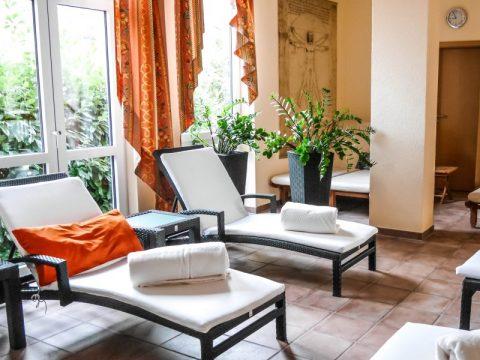 """Zeit für eine kleine Pause im Wellnesshotel """"Hotel am Hirschhorn"""""""